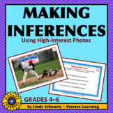 NEW! MAKING INFERENCES • USING HIGH-INTEREST PHOTOS