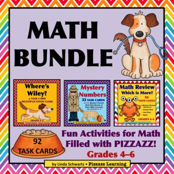 MATH BUNDLE • Grades 4–6 • Test-Prep Review