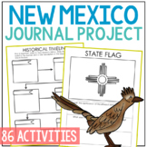NEW MEXICO History Project, Differentiated State Research Journal {EDITABLE}