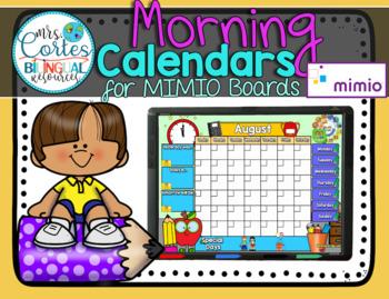 MIMIO Calendar Math- 13 Month Set English