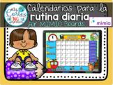 MIMIO Calendar Math- 13 Month Set Spanish