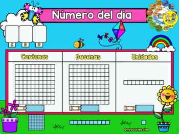 MIMIO Calendar Math- Abril (Spanish)
