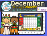 MIMIO Calendar Math- December (English)