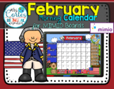 MIMIO Calendar Math- February (English)