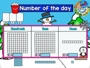 MIMIO Calendar Math- January (English)