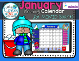 MIMIO Calendar Math- January (English)