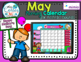 MIMIO Calendar Math- May(English)