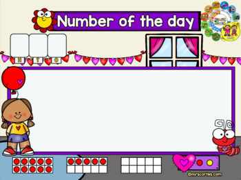 MIMIO Calendar Math- May(English)