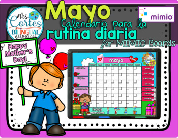 MIMIO Calendar Math- Mayo(Spanish)