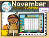 MIMIO Calendar Math- November (English)