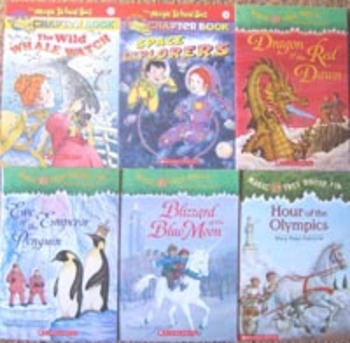 NEW Magic Tree House Dragon Penguin HOUR OF THE OLYMPICS social science books