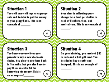 NEW  Making Financial Decisions (TEKS 3.9F PERSONAL FINANCIAL LITERACY)