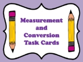 NEW  Measurement & Conversion Task Cards (TEKS 4.8A,4.8B,4