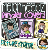 NEW-- 64 Student Melonheadz Picture Frame Kidlette Binder Covers