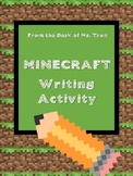 NEW  Minecraft Inspired Writing Prompts GREAT FOR KIDS WHO