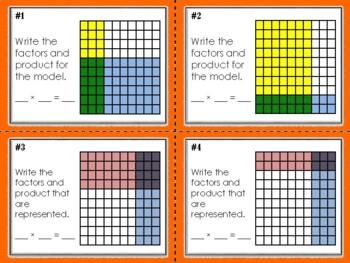 NEW  Multiplying Decimals Task Cards Set of 64 (TEKS 5.3D & CC 5.NBT.B.7)