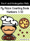 NEW  My Pizza Counting Book Numbers 1-10