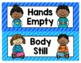 NEW! NEW! NEW! Whole Body Listening Visual Reminder Poster