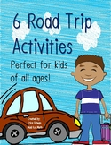 NEW! NO PREP! Road Trip Activities For Kids of All Ages!
