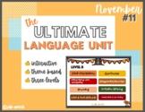 Ultimate Language Unit-November