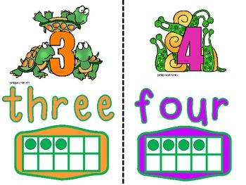 NEW Number Cards and Number Poster Set 1-10