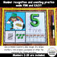NEW! Number Mats Math Center - Counting 1-20 - St. Patrick's Day Theme