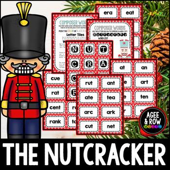 NEW! Nutcracker Words, English,Spelling, Christmas Activities, Winter, December