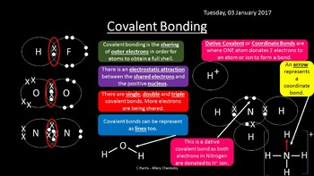 NEW OCR A Yr1 2.2.2 Bonding and Structure Revision