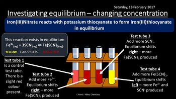 NEW OCR A Yr1 3.2.3 Chemical Equilibria Revision