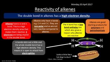 NEW OCR A Yr1 4.1.3 Alkenes Revision