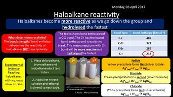 NEW OCR A Yr1 4.2.2 Haloalkanes Revision