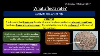 NEW OCR B (Salters) OZ - Kinetics revision