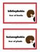 PHOBIA FUN • SET #2 • Vocabulary • End-of-Year FUN!