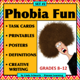 PHOBIA FUN • SET #2 • Vocabulary