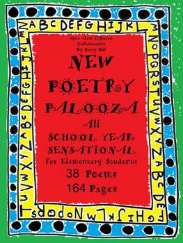 NEW POETRY PALOOZA: ALL School Year Sensational!! for Elementary Students