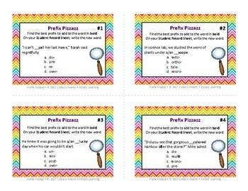 PREFIX PIZZAZZ • Grades 5–8