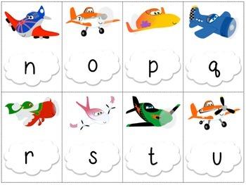Just Plane Fun! Letter/Sound Games