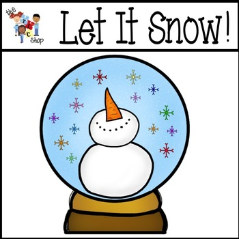 Let It Snow! Clipart Set