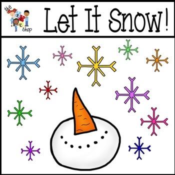 Let It Snow! Clipart Set