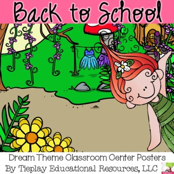 Fantasy Classroom Labels Montessori Style Center Stations