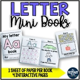 Letter Mini Books Alphabet Books