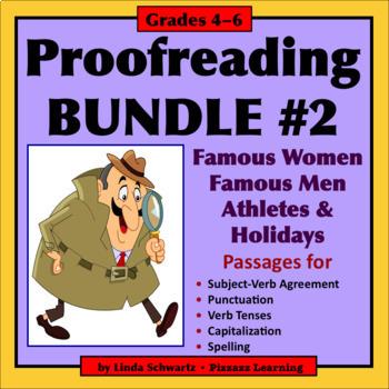 PROOFREADING BUNDLE #2 • GRADES 4–6