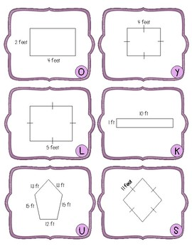 NEW! Perimeter Riddles and Jokes 3-5 Grade 3.MD.D.8, 4.5D, 5.4H