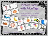 NEW! Picture Cards with Price Tags Grades 1-5 Adapt for your own classroom!