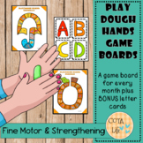 NEW Playdough Hands Game Boards