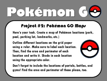 Pokemon GO Project-Based Learning GREAT PBL FOR SCIENCE, READING, WRITING, MATH
