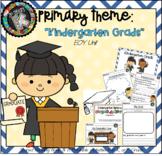 "Primary Theme - ""Kindergarten Grads!"""