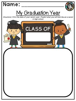 "Primary Theme - ""Kindergarten Grads!"""