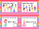 NEW  Princess Counting Task Cards (aligned to Common Core & TEKS)