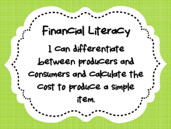 NEW  Producers and Consumers (TEKS 2.11F FINANCIAL LITERACY)